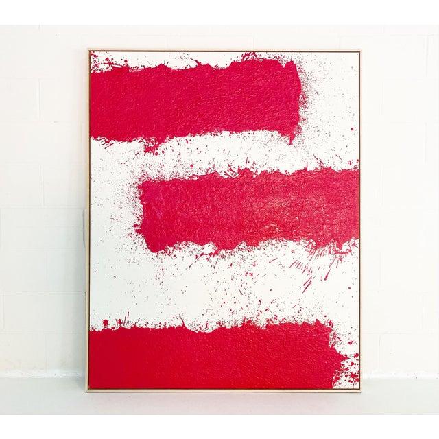 John O'Hara, Tar, T3, Encaustic Painting For Sale - Image 9 of 11