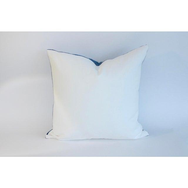 Vintage African Indigo Textile Pillow - Image 3 of 6