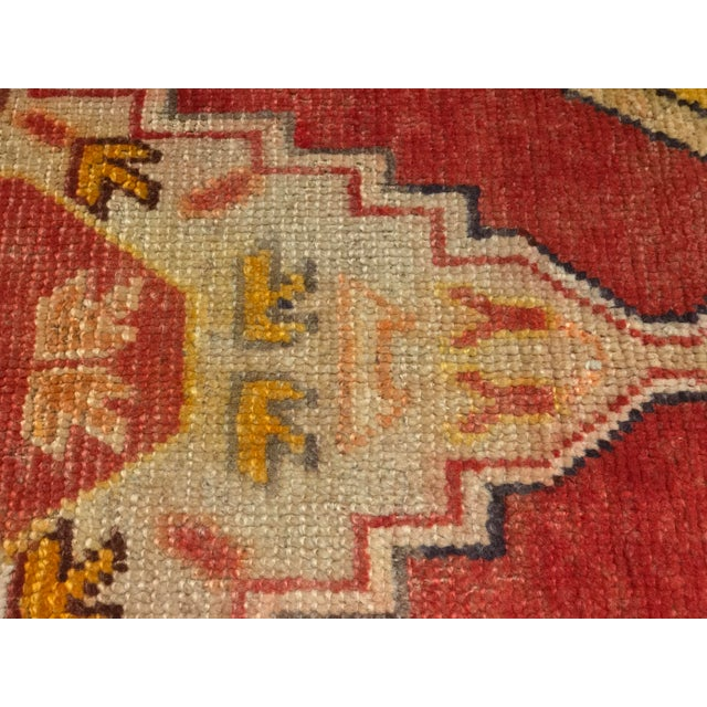 "Bellwether Rugs Vintage Turkish Oushak Area Rug - 3'8"" X 5'4"" - Image 10 of 11"