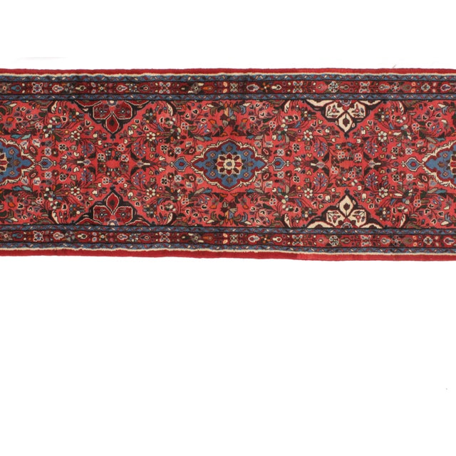 "Islamic Leon Banilivi Persian Tafresh Runner - 2'9"" x 14' For Sale - Image 3 of 4"