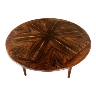 Henry W. Klein for Bramin Møbler Mid Century Danish Modern Rosewood Coffee Table