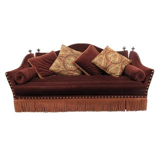 Late 20th Century Vintage Ferguson Copeland Regency Sofa For Sale