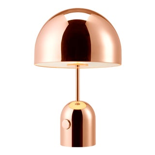 Tom Dixon Bell Table Lamp Copper For Sale