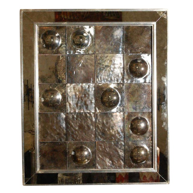 Paul Marra Contemporary Convex Mirror For Sale