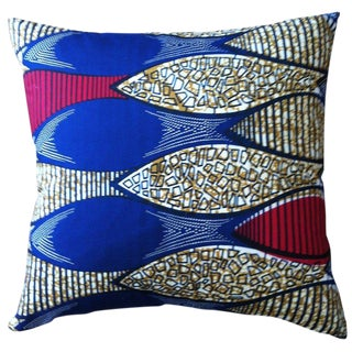 African Textile Pillow For Sale