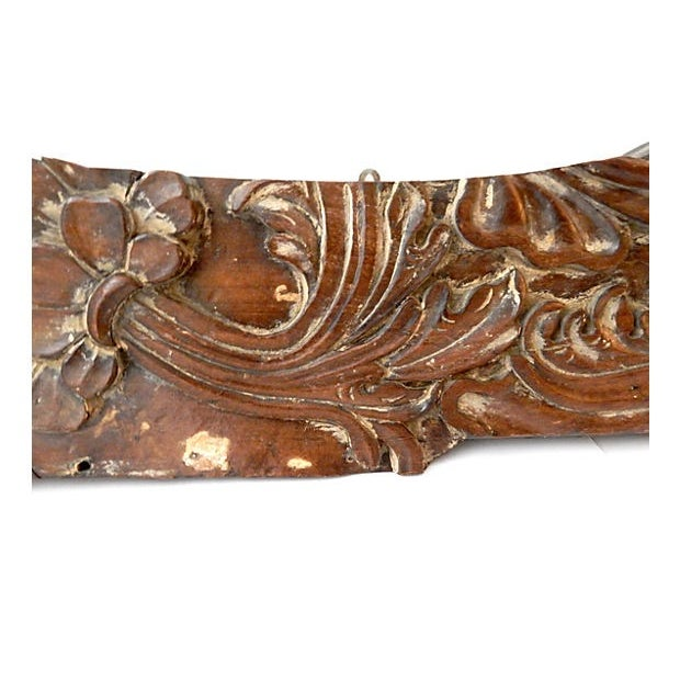 Traditional 18th Century Architectural Wood Wall Hanging For Sale - Image 3 of 10