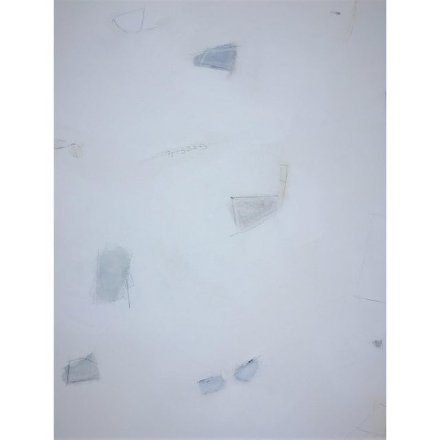Abstract Abstract Blue and White by Kimberly Moore For Sale - Image 3 of 6