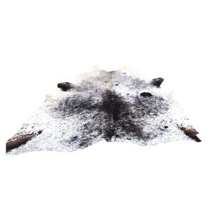 Hide Rug - XL Salt & Pepper Black & White