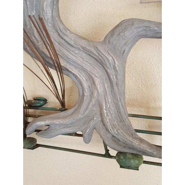 1980s Curtis Jere Bonsai Tree Wall Sculpture For Sale In Portland, ME - Image 6 of 7