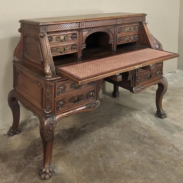 Late 19th Century 19th Century French Louis XIV Secretary For Sale - Image 5 of 13