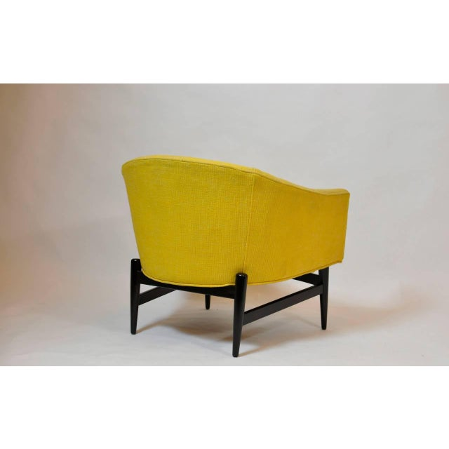 Lawrence Peabody Petite Lounge Chair Designed by Larence Peabody For Sale - Image 4 of 5