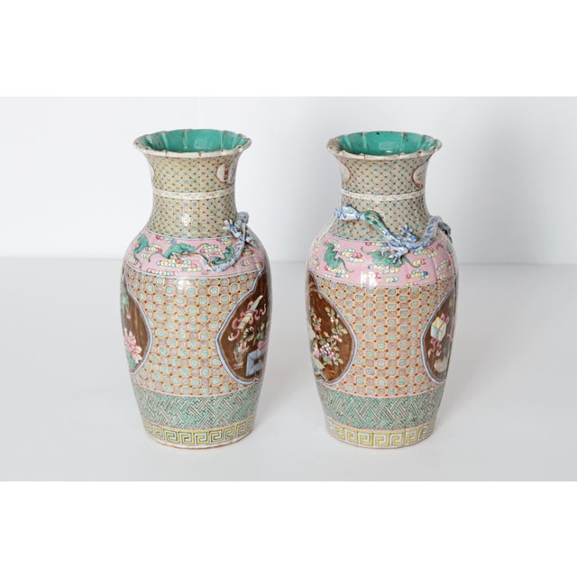 19th Century Pair of Chinese Vases For Sale In Dallas - Image 6 of 11
