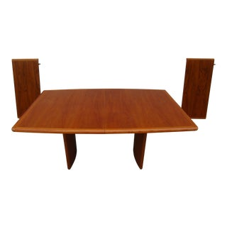 Vejle Stole Moblefabrik Teak Dining Table (Over 8 Feet in Length With Leaves)