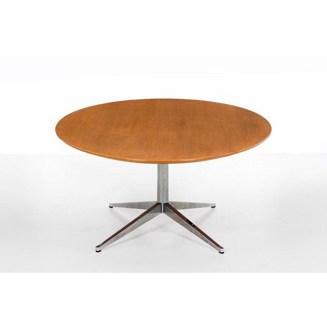 Knoll International Florence Knoll Dining Table or Desk For Sale - Image 4 of 8