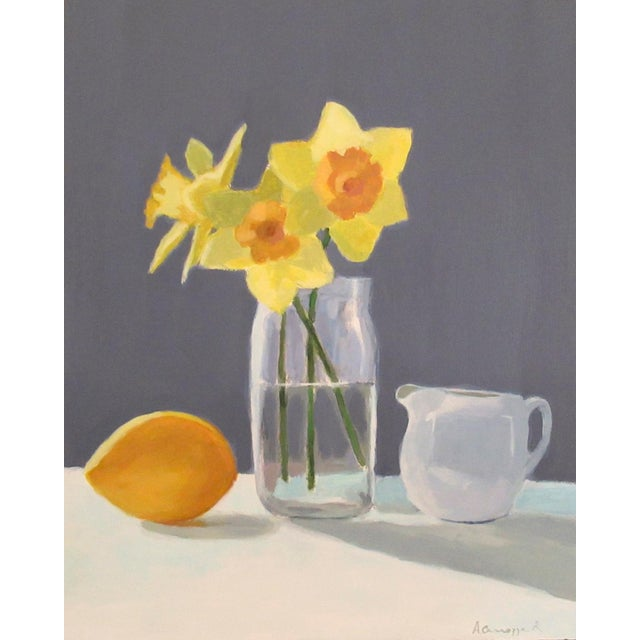 Daffodils by Anne Carrozza Remick For Sale In Providence - Image 6 of 6