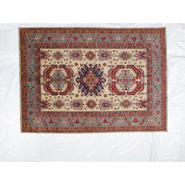 "Leon Banilivi Khotan Ghanzi Wool Carpet - 6'1"" X 8'5"" For Sale In New York - Image 6 of 6"