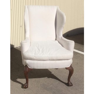 White American Wingback Chair Preview