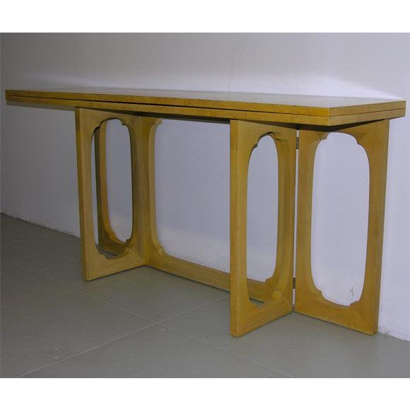 Johan Tapp Custom Flip Top Console Server Table For Sale In New York - Image 6 of 8