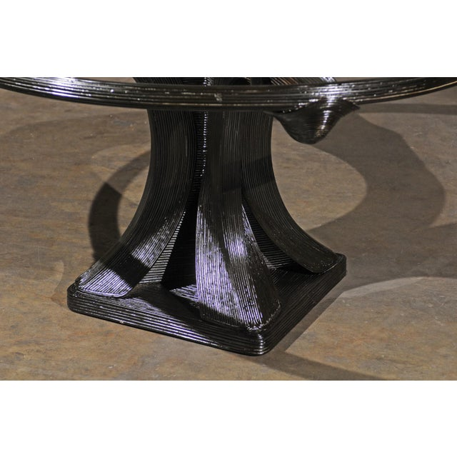 Extraordinary Trompe L'oiel Dining or Centre Table by Betty Cobonpue, circa 1980 For Sale - Image 11 of 13
