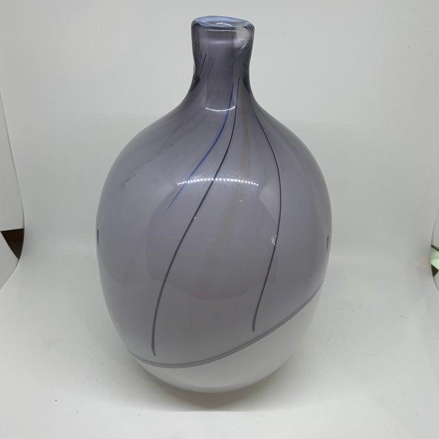 Kosta Boda Kosta Boda Bengt Edenfalk Art Glass Vase For Sale - Image 4 of 8