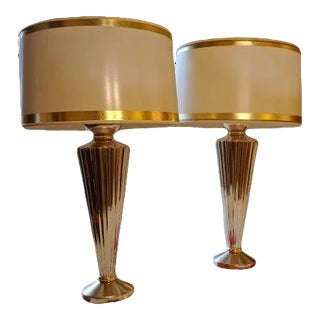 J. Robert Scott Viceroy Table Lamps - a Pair For Sale