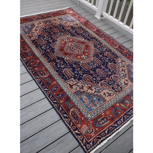 "Vintage Anatolian Turkish Rug - 4'8"" x 7'11"" - Image 3 of 6"