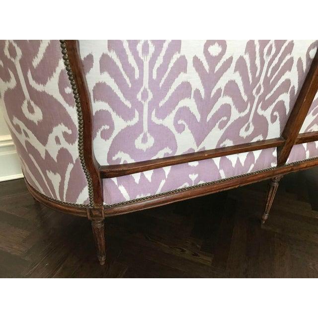 Louis XVI Style Three Seat Sofa - Image 7 of 9
