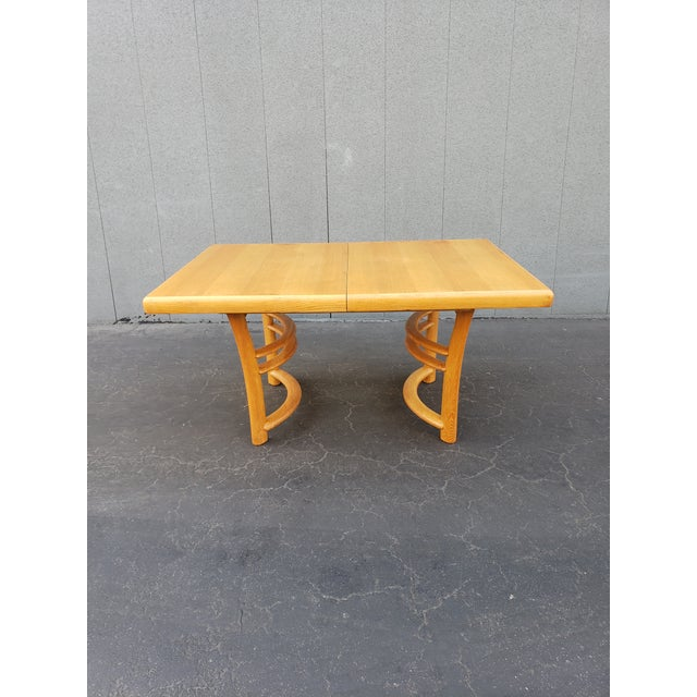 1950s Mid Century Dining Set - 5 Pieces For Sale - Image 4 of 5