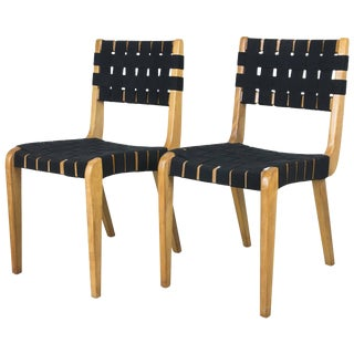 Early Pair of Side Chairs by Abel Sorenson for Knoll For Sale