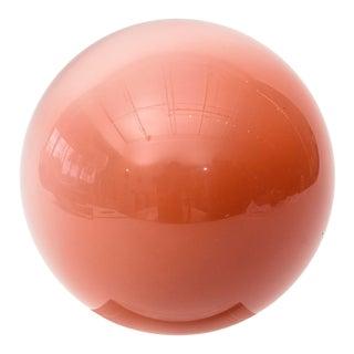 Murano Gradiated Glass Ball on Custom Lucite Base, 1970s For Sale
