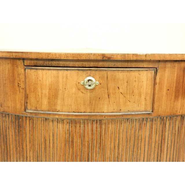 French Louis XVI Walnut Corner Cabinet For Sale - Image 3 of 7
