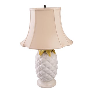 1960s Pineapple Table Lamp For Sale