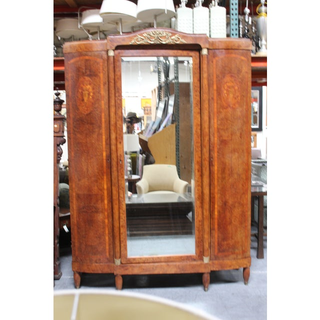 French Late Century Armoire For Sale In San Diego - Image 6 of 7