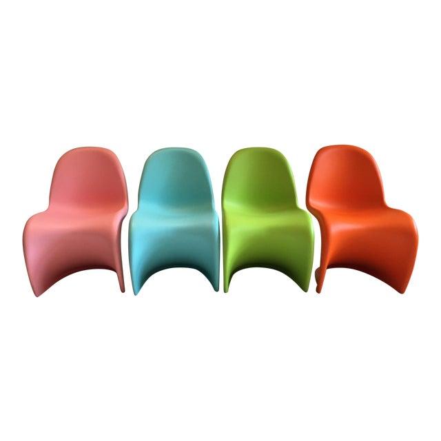 Vitra Panton Junior Chairs - Set of 4 - Image 1 of 8