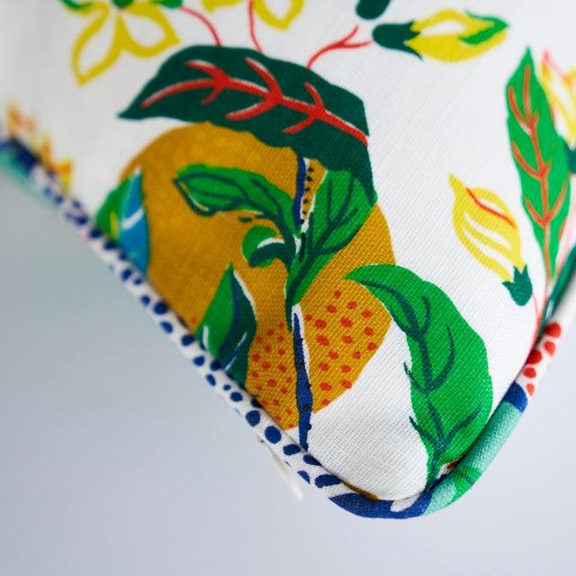 Schumacher Schumacher Citrus Garden Indoor/Outdoor Pillow For Sale - Image 4 of 6