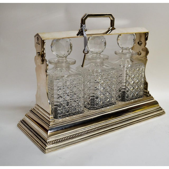 These portable drinking cases with their lovely crystal bottles are ever-popular sellers in our shop!