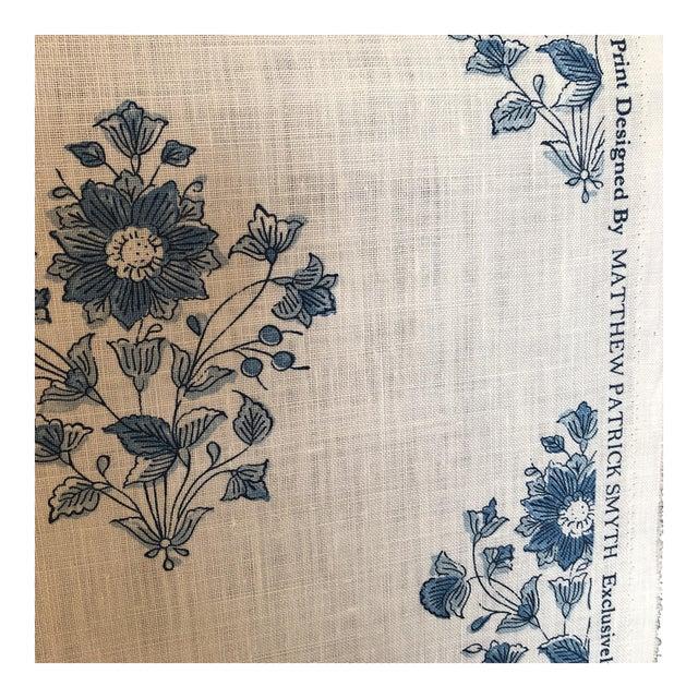 Schumacher Beatrice Bouquet Fabric For Sale
