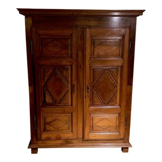 Antique French Louis XIII Armoire For Sale