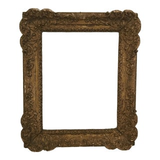 C. 1790 Early Italian Painting Frame For Sale