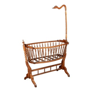 19th Century French Provencal Baby Cradle For Sale