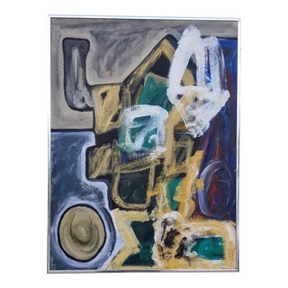 1980s Abstract Expressionist Painting For Sale