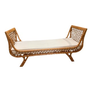 Rattan Chaise Day Bed For Sale