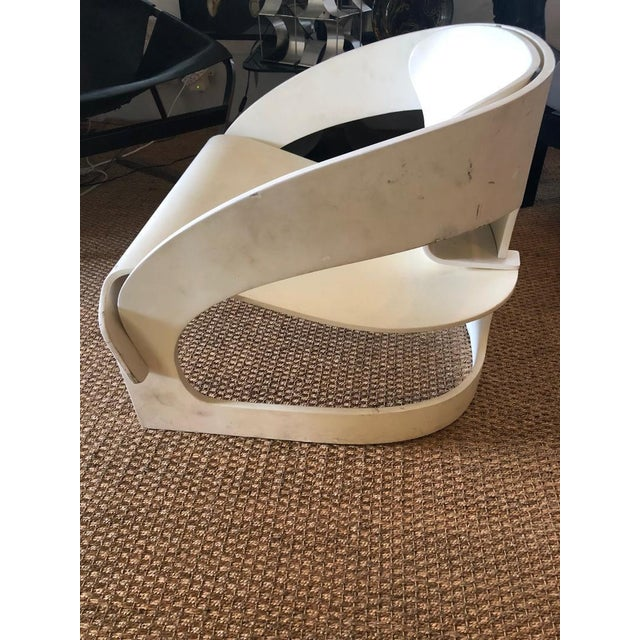 """1960s Original Vintage Joe Colombo """"4801"""" Armchair, Made in Italy by Kartell For Sale - Image 5 of 9"""