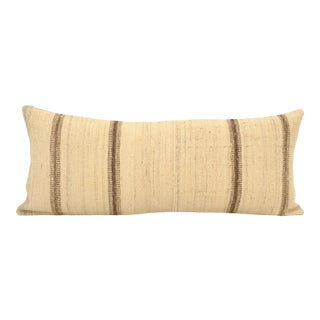 """Extra Long Turkish Kilim Pillow Cover 17"""" X 40"""" For Sale"""