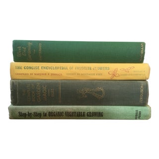 Vintage Botanical Books - Set of 4 For Sale