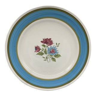 Japan's Blue Lagoon Chop Plate For Sale