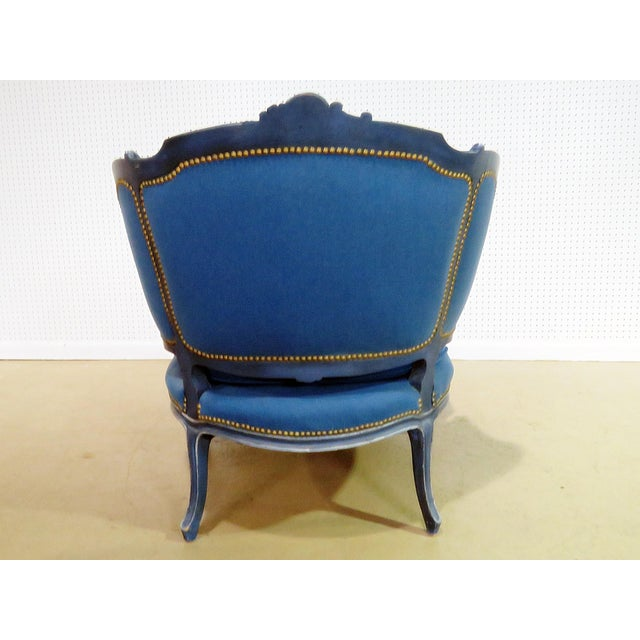 Louis XV Style Chaise Lounge - Image 7 of 8