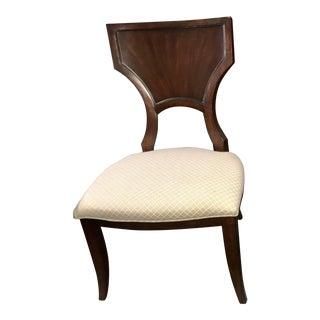 Thomasville Furniture Spellbound Greek Klismos Dining Side Chair For Sale