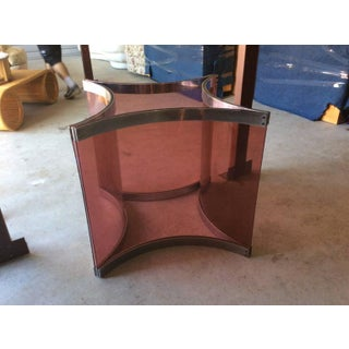 Alessandro Albrizzi Purple Lucite Dining Table Base Preview