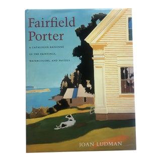 Fairfield Porter Catalogue Raisonne of Paintings, Watercolor and Pastels For Sale
